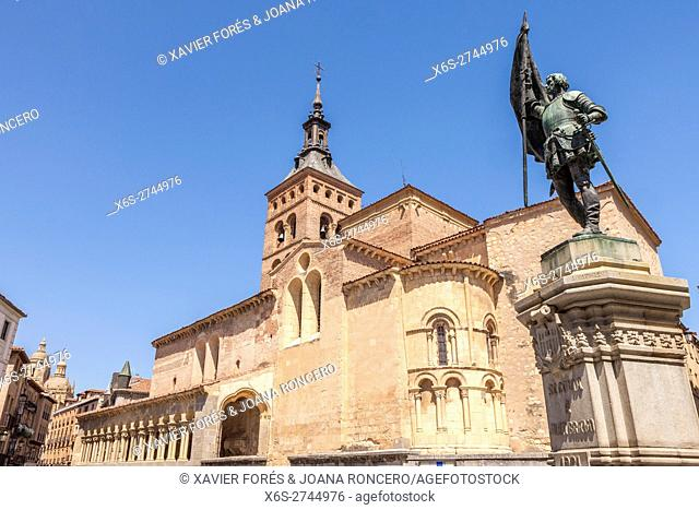 Church of San Martin in Segovia, Spain