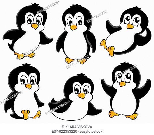 Cute penguins collection 1