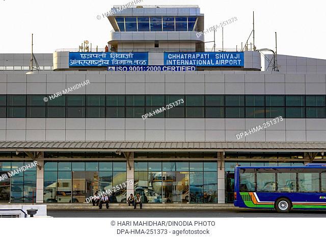 Chhatrapati shivaji international airport, santacruz, mumbai, maharashtra, india, asia