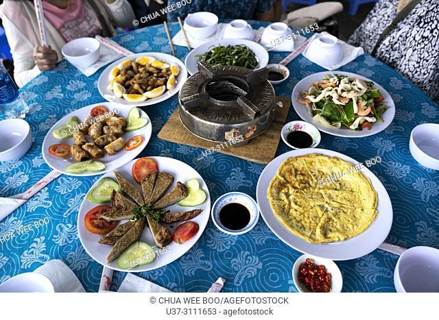 Vietnamese cuisine in Nha Trang, Vietnam