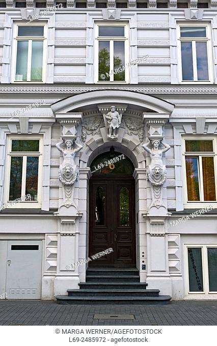 Historic Architecture, St. Georg, Hamburg City, Germany, Europe