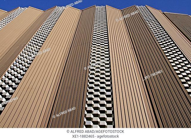 Vivesa industrial buildings, Igualada, Catalonia, Spain
