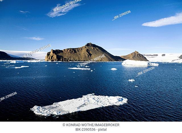 Devil Island, Weddell Sea, Southern Ocean, Antarcica