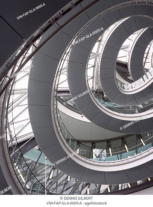 GREATER LONDON AUTHORITY - CITY HALL, THE QUEEN'S WALK, LONDON, SE1 SOUTHWARK + BERMONDSEY, UK, FOSTER & PARTNERS, INTERIOR