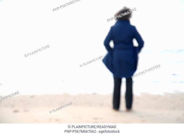 A human alone