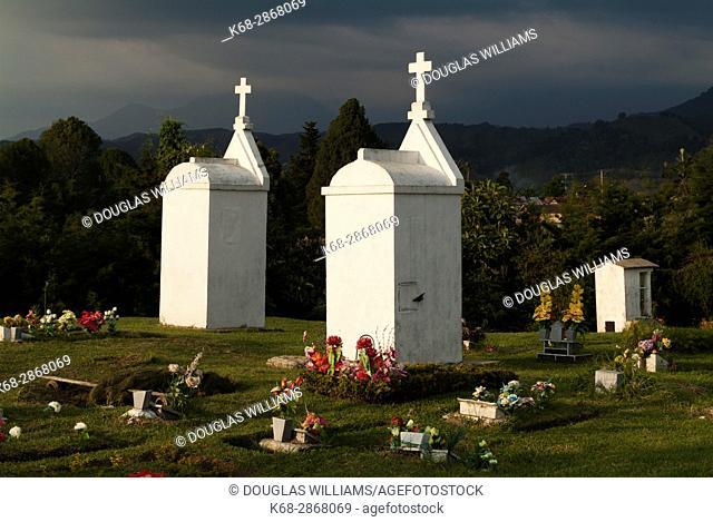 Cemetery in Salento, Colombia