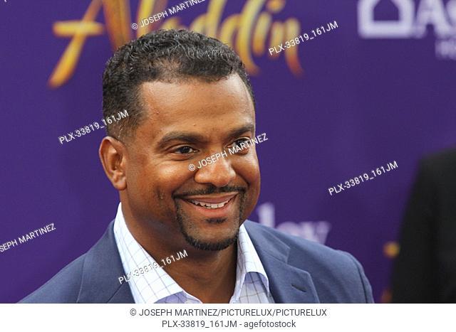 "Alfonso Ribeiro at The World Premiere of Disney's """"Aladdin"""" held at El Capitan Theatre, Hollywood, CA, May 21, 2019. Photo Credit: Joseph Martinez /..."