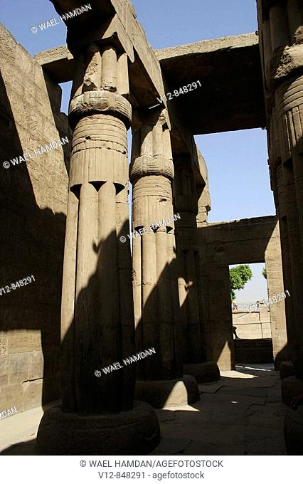 Temple of Luxor, Luxor city, Egypt