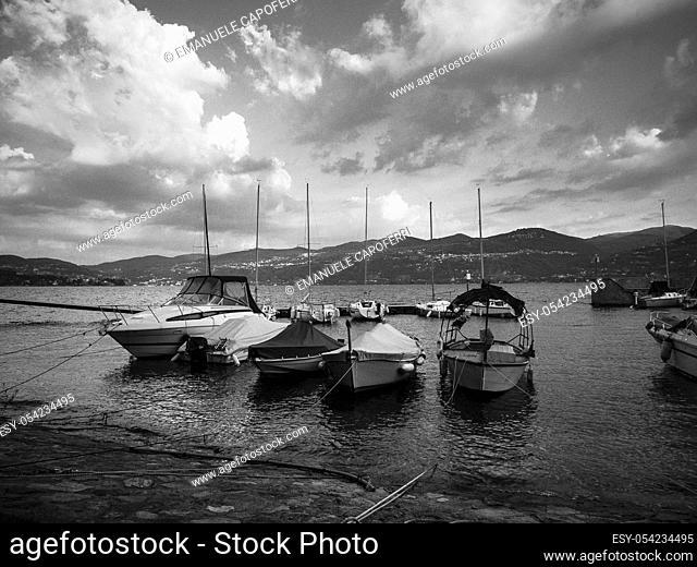 Lake Maggiore, Ispra, Lombardy, Italy