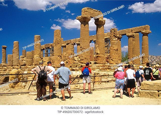 Italy, Sicily, Agrigento, dei Giuno temple - Era Lacinia