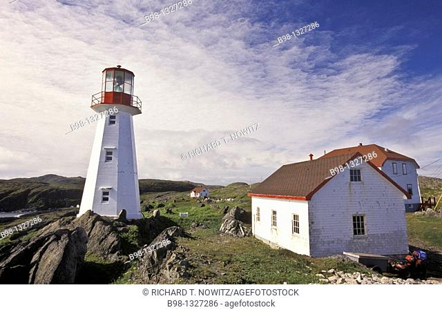 Newfoundland, architecture, Atlantic Coast, building, color photography, day, horizontal, Inn, lighthouse, Maritime Provinces, No People, North America