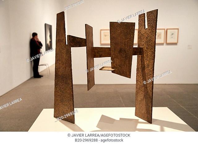 Wind Comb I, 1952, Eduardo Chillida, Museo Nacional Centro de Arte Reina Sofia, Madrid, Spain, Europe