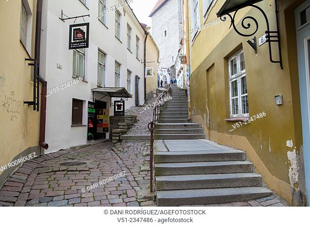 Street in Tallin, Estonia