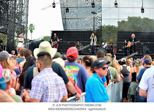 1st annual Kiss 99.9 Chilli Cookoff at CB Smith Park Featuring: Kimberly Roads Schlapman, Jimi Westbrook, Karen Fairchil
