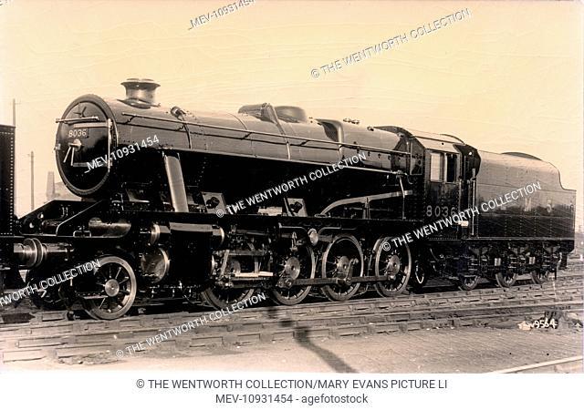 8036 Stanier 8F Steam Locomotive 2-8-0, England. London, Midland & Scottish Railway