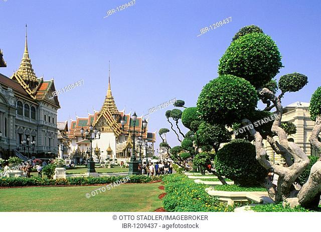 Royal Palace, Grand Palace, Wat Phra Kaeo, Bangkok, Thailand, Asia