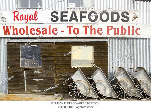 Royal Seafoods, Municipal Wharf II, Monterey, California, United States. RM