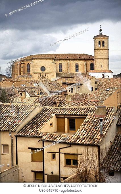 Collegiate church. Berlanga de Duero. Soria province. Castilla y León. Spain