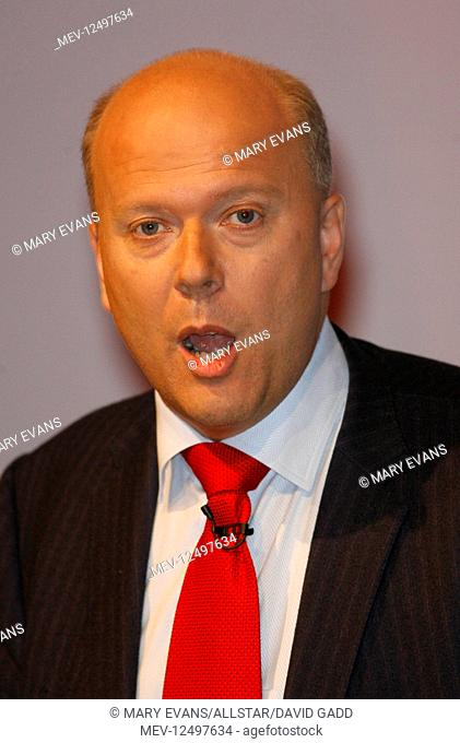 Chris Grayling MP Shadow Sec State Work & Pensions Conservative Party Conference 2007 Winter Gardens, Blackpool, England 01 October 2007 CONSERVATIVE PARTY...