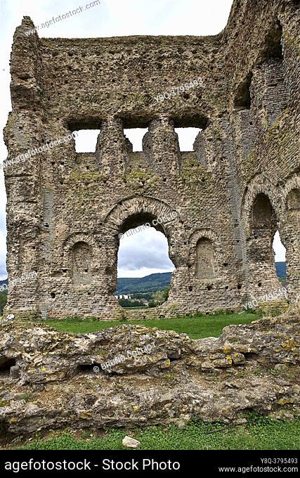 Temple of Janus, Gallo-Roman site in Autun, Burgundy, France