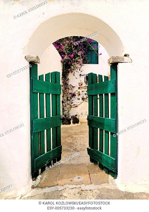Open Air Museum - Agricola El Patio in Tiagua on the island Lanzarote, Canary Islands, Spain