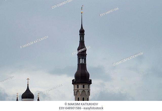 Old tower in Tallinn Estonia