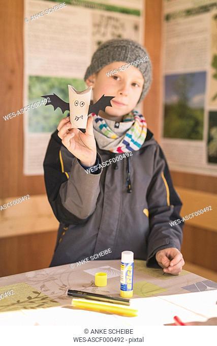 Tinkering paper bats