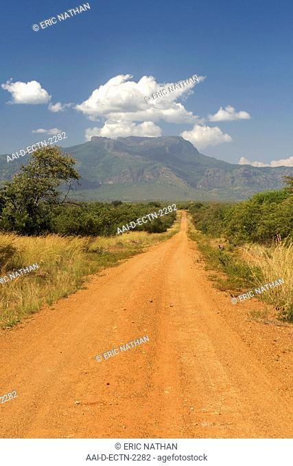 Mt Kadam 3068m in the Debasien range of mountains in the Nakapiripirit region of eastern Uganda