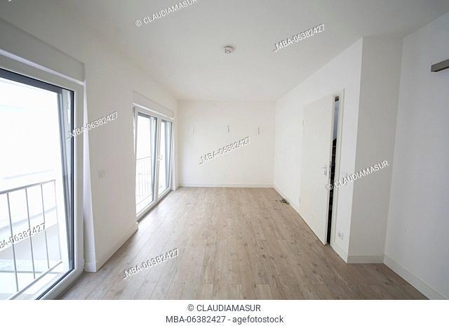 new construction, bedroom, empty