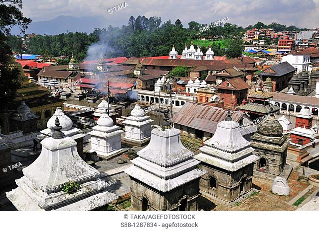 View of Pashpatinath
