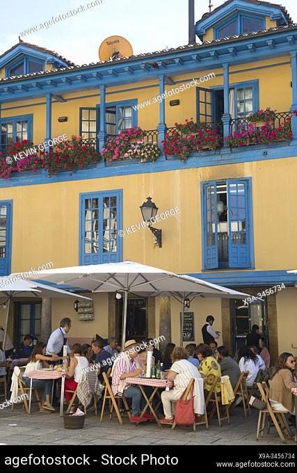 Casa Ramon Restaurant, Plaza del Fontan Square, Oviedo, Asturias, Spain