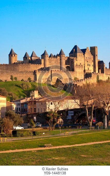 La Cité, Carcassonne, Languedoc-Rousillon, France