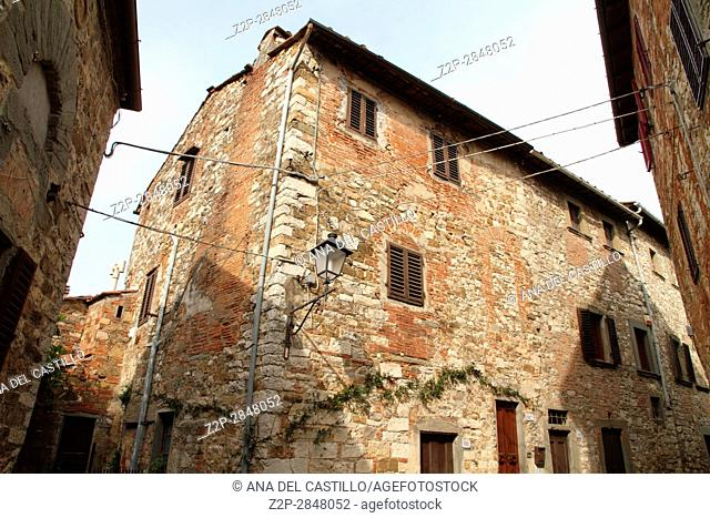 Montefioralle Greve in Chianti Tuscany Italy