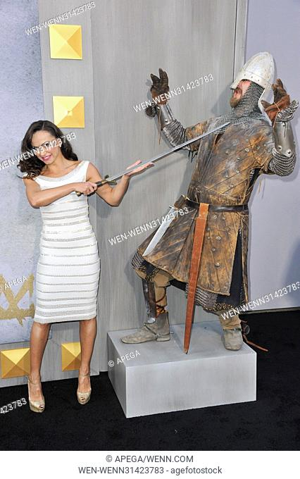 Premiere King Arthur Legend of the Sword Featuring: Karina Smirnoff Where: Los Angeles, California, United States When: 09 May 2017 Credit: Apega/WENN