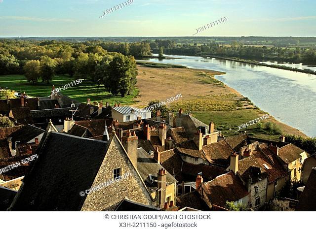 La Charite-sur-Loire, Nievre department, Burgundy region, France, Europe