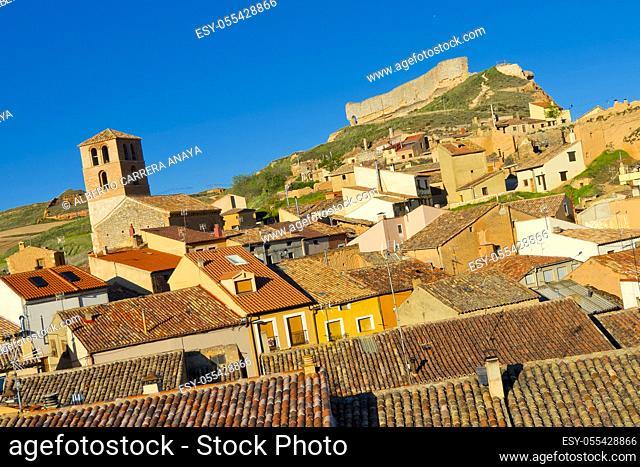 Town View, San Esteban de Gormaz, Soria, Castilla y León, Spain, Europe
