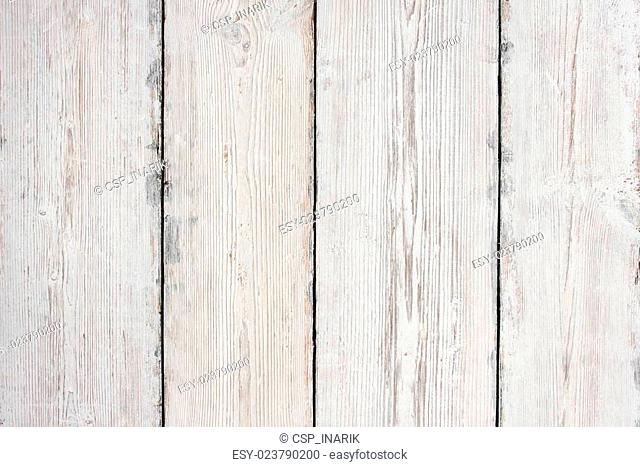 Wood Planks Texture, White Wooden Table Background, Floor