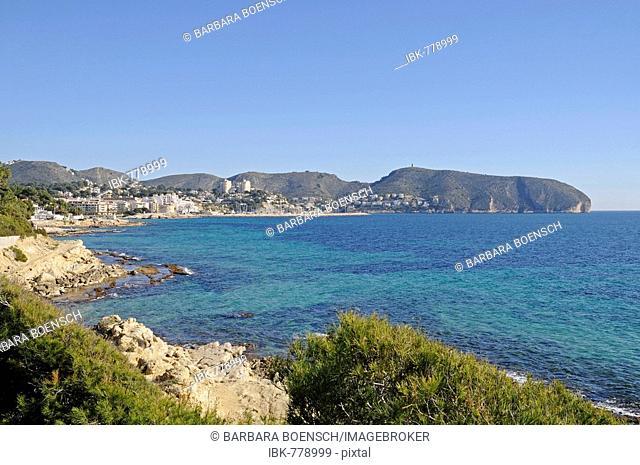 Coast, Moraira, Alicante, Costa Blanca, Spain