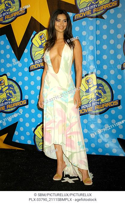 Roselyn Sanchez at the 2003 MTV Movie Awards, held at The Shrine Auditorium in Los Angeles, CA. The event took place on Saturday, May 31, 2003