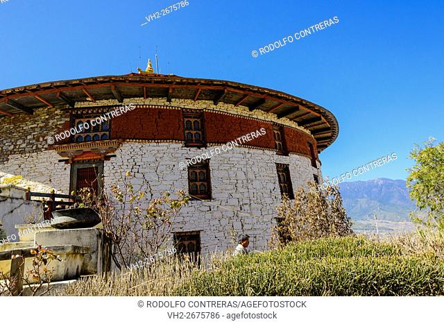 Traditional architecture in Bhutan