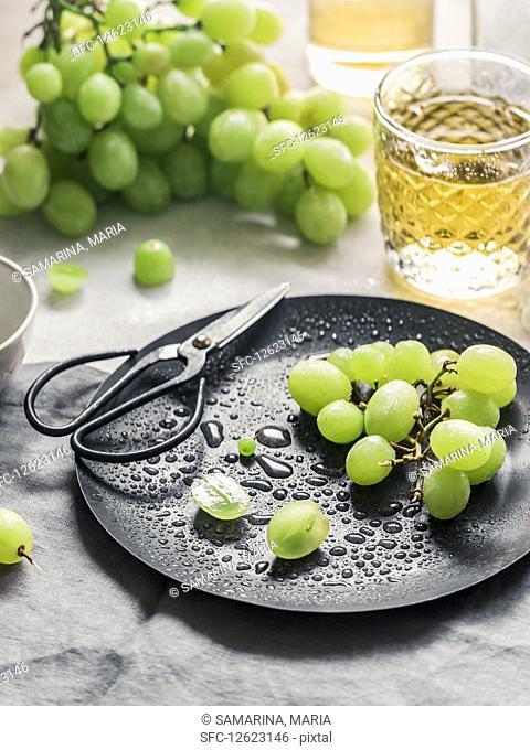 Home made grape juice