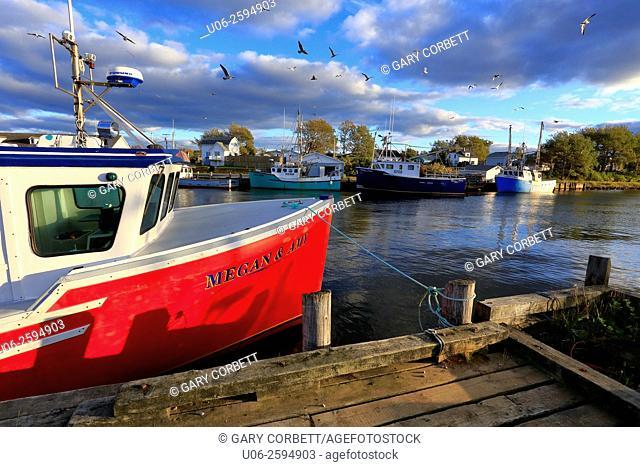 Harbor, Glace Bay, Nova Scotia, Canada