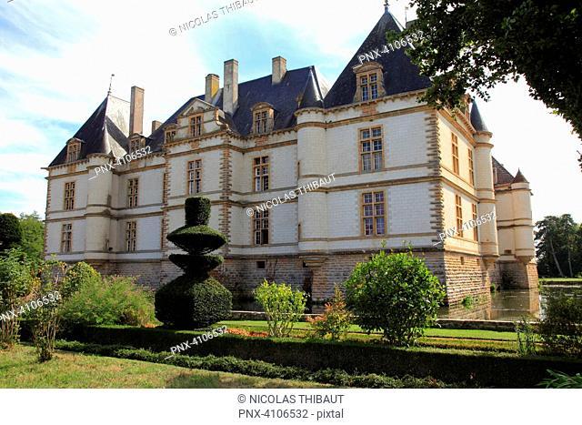 France, Bourgogne Franche Comte, Saone et Loire department (71), Cormatin, the castle