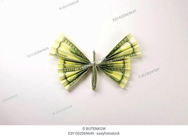 BUTTERFLY Money Origami Insect Animal Dollar Bill Cash Sculptors ... | 467x640