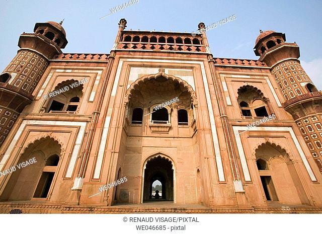 18th century Safdarjang's Tomb. New Delhi. India