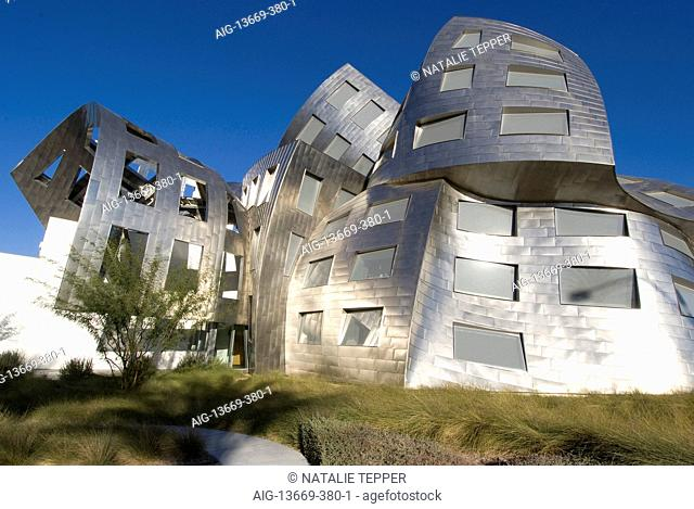 The Cleveland Clinic, Lou Ruvo Center for Brain Health, Frank Gehry architect, Las Vegas, Nevada, United States
