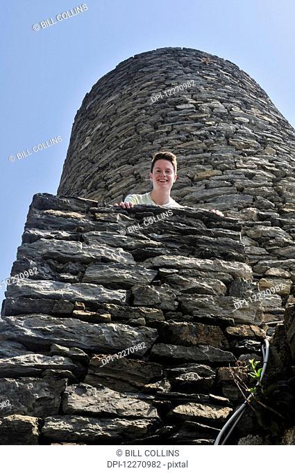 Watchtower; Vernazza, Liguria, Italy