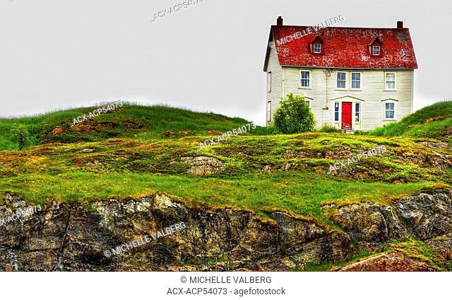 Old House, Trinity, Newfoundland, Canada
