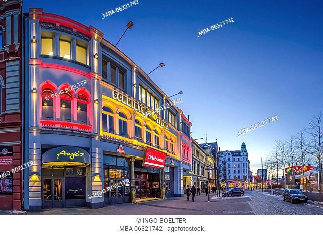 Germany, Hamburg, St. Pauli, Reeperbahn, Kiez, Schmidt, Schmidt's Tivoli