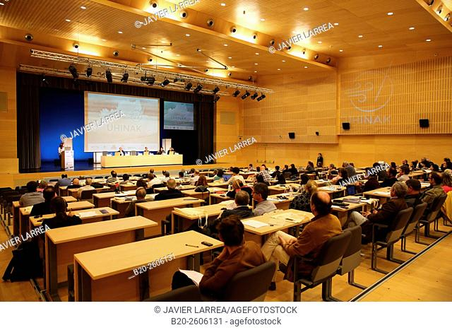 Auditorium. Conference hall. Ficoba, Basque Coast International Fair. Irun. Gipuzkoa. Basque Country. Spain
